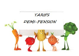 Tarifs demi pension